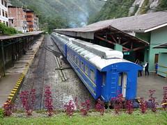 Estação de trem em Machu Picchu pueblo