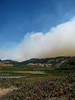 (Emma Catherine Simpson) Tags: california wild plants usa cloud reed water clouds forest reeds landscape fire smoke forestfire wildfire route101 canonpowershotsx110is