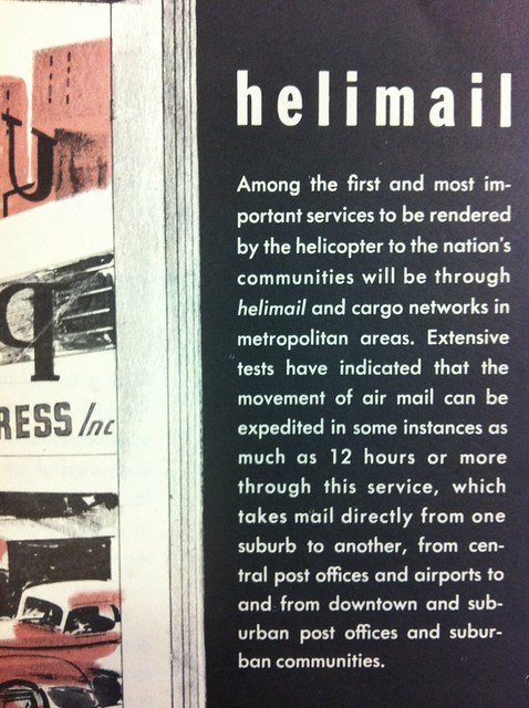 "Also in this pamphlet: ""What is a Helicopter?"""