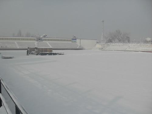 Последствия снегопада в Курган-тюбе (1)