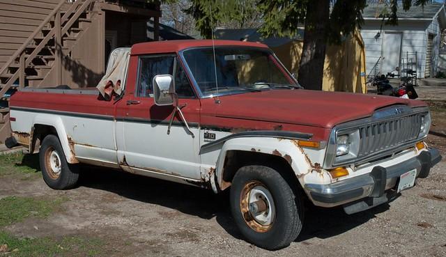 jeep j10 pickup bed 66051