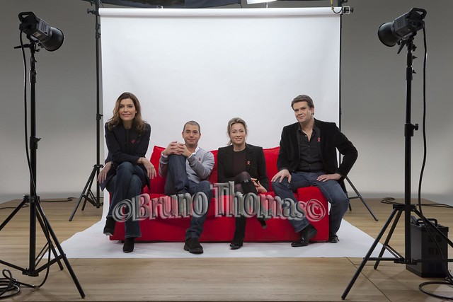 Anne Sophie Lapix, ALI BADDOU, Daphné Roullier, Hervé Mathoux