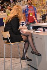 Crossed Legs (RayCisco) Tags: california anaheim wondercon2012