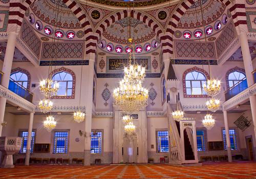 inside auburn mosque, sydney