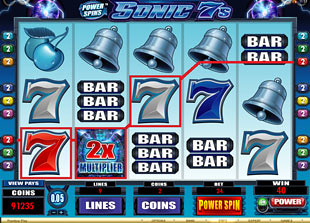 Power Spins Sonic 7s free spins multiplier
