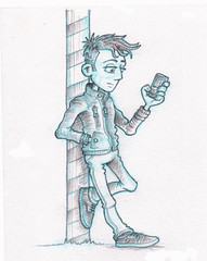 Young Man - Pose 01 - pencilled