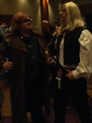 Mad-Eye and Lucius (BelleChere) Tags: atlanta costume geek cosplay harrypotter convention dragoncon siriusblack yuleball madeyemoody luciusmalfoy bellatrixlestrange