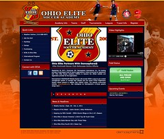 Ohio Elite Soccer Academy Website