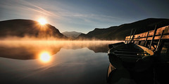 Llyn Nantlle (Kevin OBrian) Tags: park uk light reflection nature wales sunrise walking landscape landscapes nationalpark nikon scenery images national snowdon welsh snowdonia peninsula gwynedd eryri northwales nantlle kevinobrian