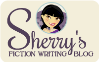 Sherry's Writing Blog button by parajunkee
