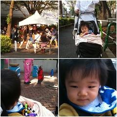 とらちゃん、猿楽祭に行く (2011/10/9)