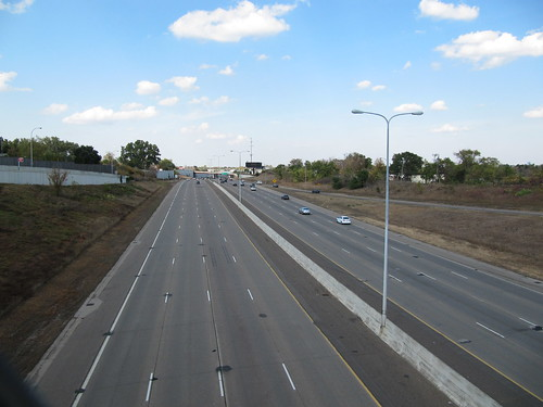 I-94 Looking North from N Dowling Ave