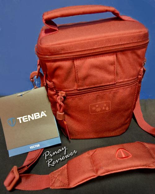 Tenba Vector Top Load 1 in Cadmium Red - back