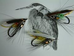 3 Traditional Dee Flies (dvd_mcphl) Tags: salmon flies dee spey