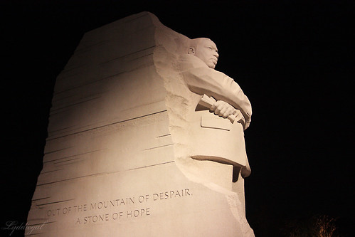 MLK at night
