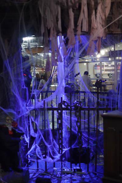 Purple Halloween at Chelsea Market