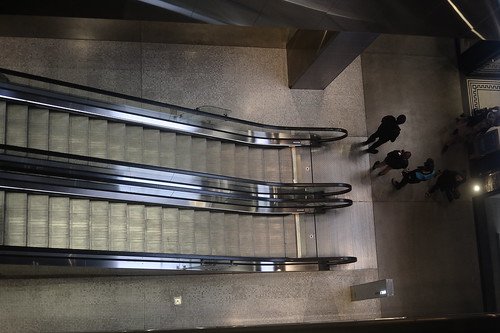 Escalators at Westfield