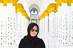 Pious (ev@ristus) Tags: portrait asian uae mosque abudhabi pinay grandmosque sheikhzayedgrandmosque