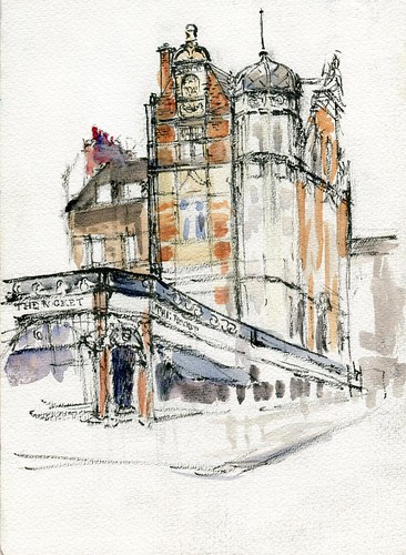 London - near the British Library (unfinished)