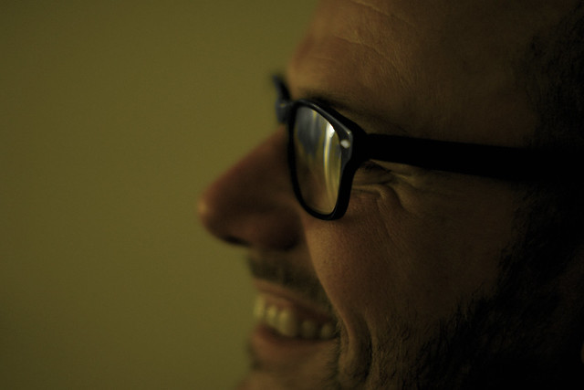 peter smiling