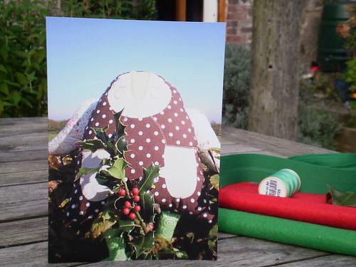 Cards and festive felt