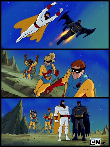 Ptw Space Ghost on Batman The Brave and the Bold
