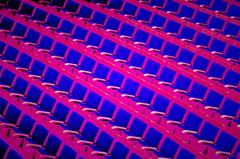 9/365 seats (雯菇) Tags: pink blue colors pattern purple sydney seats wen operahouse ~≧▽≦~icelemontea 雯菇