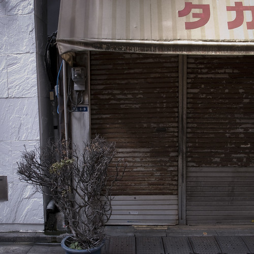 Finally Shuttered in Ginza