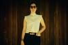 26390028 (jakesburg) Tags: wood woman brown white black film girl sunglasses lady vintage panel retro blouse vogue bellybutton seventies sixties fleetwoodmac middrift sooc viewonblack pleasepressl