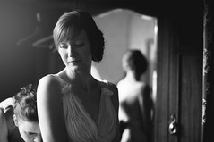 Hazel (joannablu kitchener) Tags: uk wedding 50mm mirror bride scotland nikon edinburgh f14 hazel nikkor preparations d90 royalscotsclub kitchenerphotography