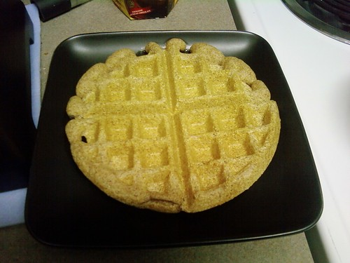 Fluffy Coconut Waffle 1