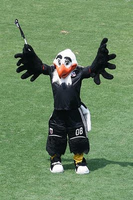 """Talon the Eagle"" - DC United Mascot"