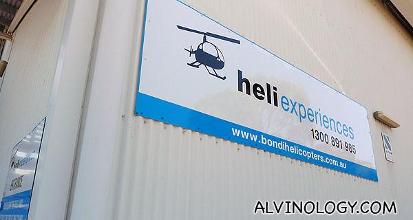 My last fun stop in Sydney, Heli Express