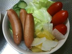 朝食サラダ(2011/10/20)
