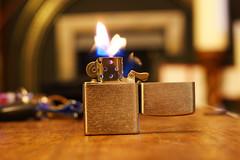 Cheap Zippo (pepemczolz) Tags: longexposure silver fire flames smoking lighter cheap pound zippo flicker poundland