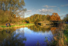 Sankey Valley Park (Keo6) Tags: park reflections sankey valley