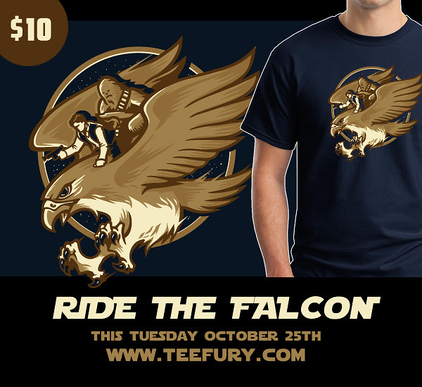 Ride The Falcon @ TeeFury