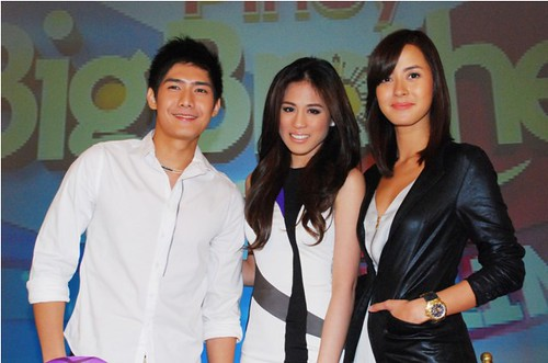 Pinoy Big Brother Unlimited hosts Robi Domingo, Toni Gonzaga, and Bianca Gonzalez (2)
