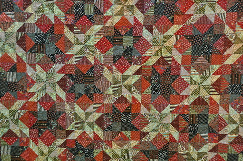 Paprika quilted