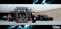 The Dark Knight's Batcave (ZetoVince) Tags: car dark greek batcave lego bruce wayne vince batman vehicle knight minifig batmobile tumbler zeto foitsop legosuperheroes zetovince dreamdealer