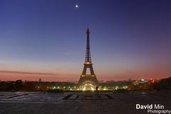 Paris, France - Eiffel Tower (GlobeTrotter 2000) Tags: morning travel paris france tower tourism night sunrise europe eiffel visit explore trocadero
