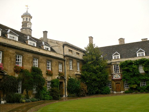 Christ's College quad 2