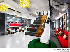 Creative office design by M Moser Associates (M Moser Associates | Interior Design Architecture) Tags: architecture corporate idea construction furniture interior relaxing engineering associates slide staircase workspace workplace environment seating build moser interiordesign built offices workspaces workplaces mmoser designinspiration designideas officeinterior officegallery cooloffices designstyles inspiringoffices creativeworkplaces innovativeinteriors creativeoffices creativeofficedesigns