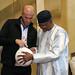 Zidane visits Mali