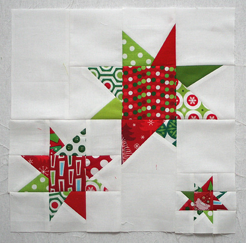 Christmas block for Katie