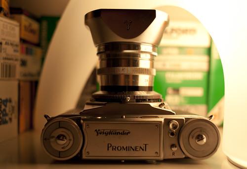Voigtlander Prominent + Nokton 50mm f1.5