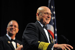 MCPOCG Leavitt attends Coast Guard Foundation Dinner
