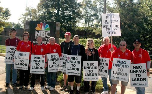 NABET_Protest@NBC