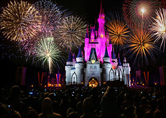 walt disney world - magic kingdom castle fireworks (Dan Anderson.) Tags: vacation usa castle night orlando florida fireworks magic disney resort disneyworld mickeymouse fl cinderella waltdisneyworld walt magickingdom magickingdomcastlefireworks disneyworldcastlefireworks