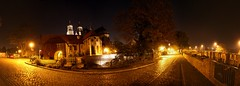 Frstenwall (diwan) Tags: street city nightphotography light panorama night canon germany geotagged deutschland eos view place stitch cathedral nacht magdeburg stadt dunkel panoramix langzeitbelichtung longexposures fotogruppe 2011 saxonyanhalt sachsenanhalt nachtaufnahmen frstenwall magdeburgerdom canoneos450d microsoftimagecompositeeditor geo:lon=11635982 geo:lat=52123877 fotogruppemagdeburg